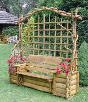 уют в саду
